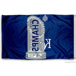 Kansas City Royals Official MLB 3' x 5' flag by Wincraft