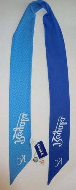 KANSAS CITY ROYALS MLB GENUINE MERCHANDISE SCARF FOREVER COL