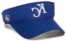 Kansas City Royals MLB OC Sports Blue Golf Sun Visor Hat Cap