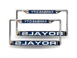 Kansas City Royals MLB  Chrome Metal Laser Cut License Plate