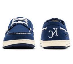KANSAS CITY ROYALS MLB Size 8 Eastland Men's Navy Boat Shoes