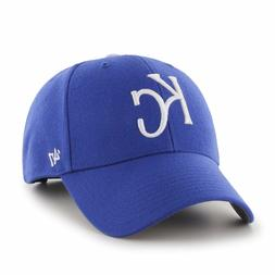 Kansas City Royals 47 Brand MVP Clean Strap Adjustable On Fi