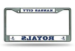 Kansas City Royals New BOLD Design Chrome Frame Metal Licens