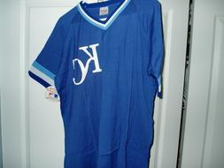 Kansas City Royals NWT ALpullover jersey licensed MLB shirt