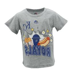 Kansas City Royals Official MLB Majestic Apparel Infant Todd