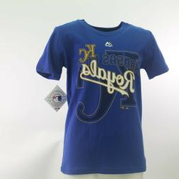 Kansas City Royals Official MLB Majestic Apparel Kids Youth