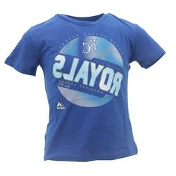 Kansas City Royals Official MLB Majestic Apparel Youth Kids