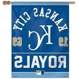 KANSAS CITY ROYALS ~ Official MLB Outdoor House Flag Banner