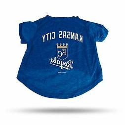 Kansas City Royals Sparo Pet T-Shirt - Blue