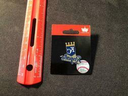 Kansas City Royals Pin - Primary Plus - Logo + Script - NEW