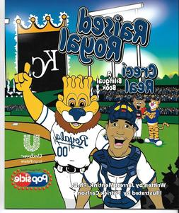 "Kansas City Royals ""Raised Royal"", Bilingual 32 page Childre"