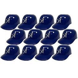 Kansas City Royals Rawlings MLB Ice Cream Snack Helmets 12 P