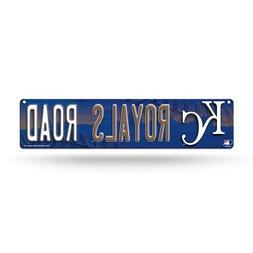 """Kansas City Royals Road MLB Baseball 16"""" Street Sign Fan Wal"""