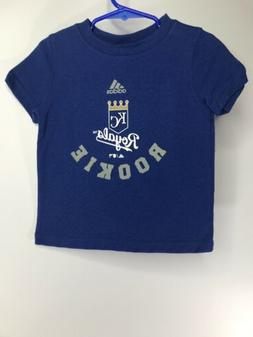 "Kansas City Royals ""Rookie"" Adidas MLB Baby Baseball T-Shirt"