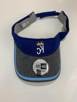 Kansas City Royals  New Era Royal Blue Visor Baseball MLB Ad