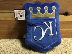 Kansas City Royals SHAPED THROW PILLOW OFFICIAL MLB NWT