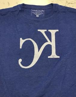 Kansas City Royals Shirt Mens T-Shirt Size XL Royal Blue Ret
