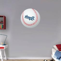 Kansas City Royals Slogan MLB Logo Ball Art Wall Decor Stick