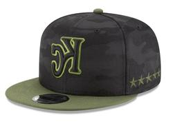 New Era Kansas City Royals Snapback Hat Black Camo Memorial