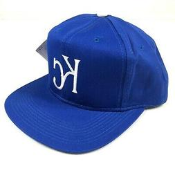 Kansas City Royals Snapback Hat Cap Blue White KC Logo Youth