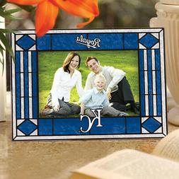 Kansas City Royals Stained Glass Picture Frame NIB - Memory