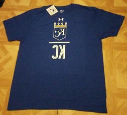 Under Armour Kansas City Royals T-Shirt MLB Men's Blue/White