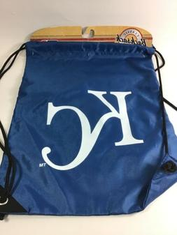 Kansas City Royals Team Draw String Bag NEW Royal Blue / Whi