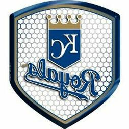 Kansas City Royals Team Shield Reflector Emblem Decal Sticke