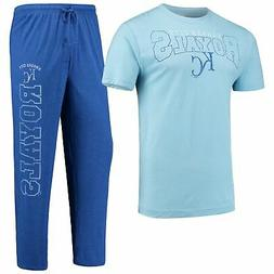 Kansas City Royals Concepts Sport Topic T-Shirt & Pants Slee