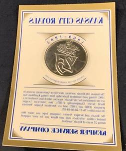 kansas city royals vintage 25th anniversary commemorative