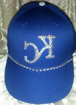 Kansas City Royals Women's Rhinestone Bling MLB Baseball Cap