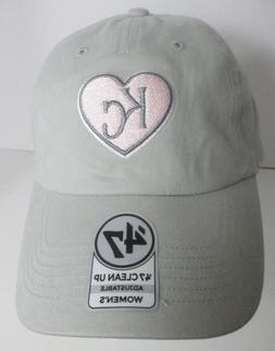 Kansas City Royals Womens Hat Cap KC MLB Strapback  #gypk
