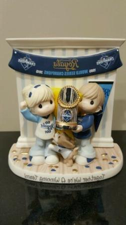 Kansas City Royals World Series Precious Moments Figurine.