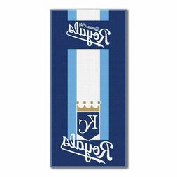 """Kansas City Royals """"Zone Read"""" Beach Towel, 30-inch by 60-in"""