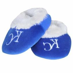 KC Kansas City Royals Baby Bootie Slippers Infant Children K