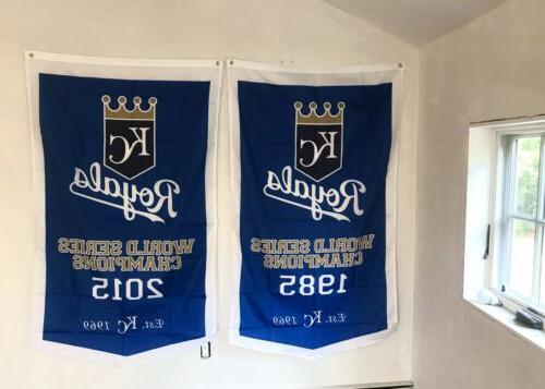Complete Royals World 2 Banners/Flags