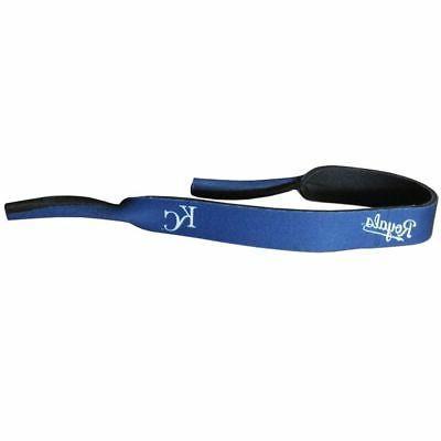 "Kansas City Royals 16"" Neoprene Sunglasses Strap  Croakies"