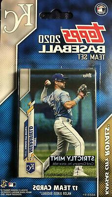 Kansas City Royals 2020 Topps Factory Sealed Team Set Salvad