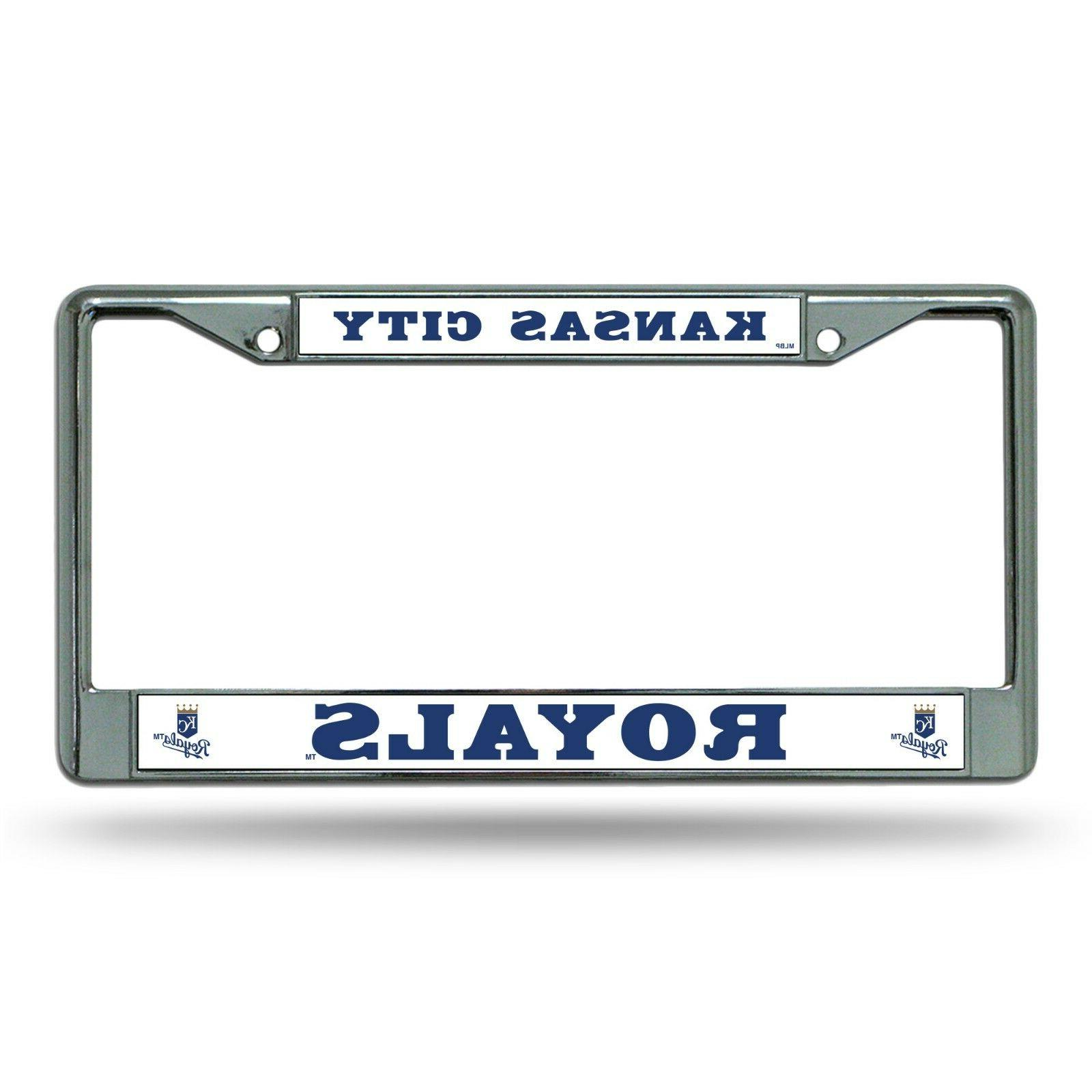 kansas city royals car truck tag metal