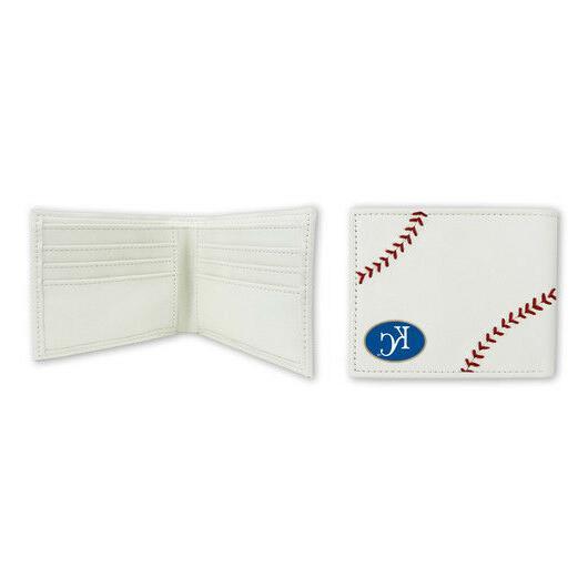 kansas city royals classic leather baseball wallet