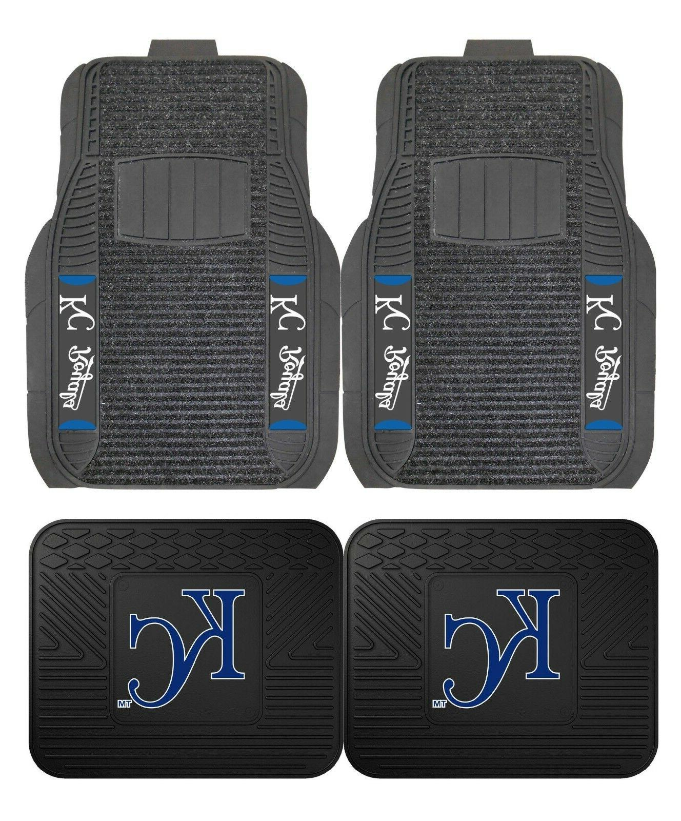 kansas city royals deluxe auto floor mats