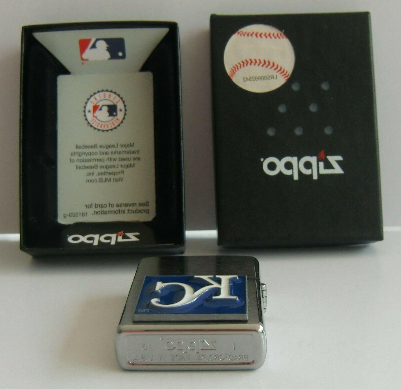 Kansas City Royals Zippo 3-D Logo Baseball