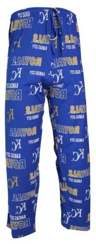 Kansas City Royals MLB Men's Scatter Pattern Pajama Pants 2X