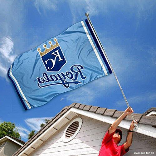 Kansas City Royals Blue and Banner