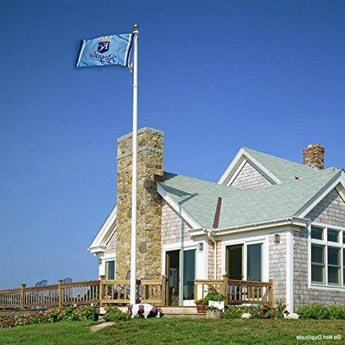Kansas Blue Flag and Banner