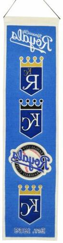 Kansas City Royals Sport Team Heritage Banner 2012