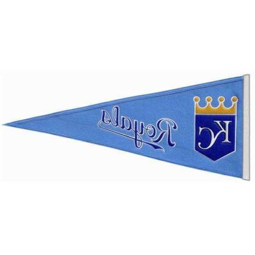 kansas city royals traditions banner pennant 13