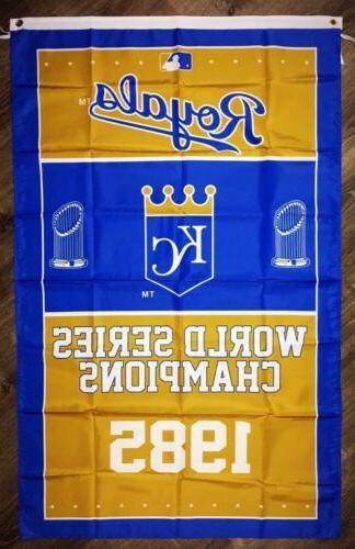 kansas city royals world series championship flag