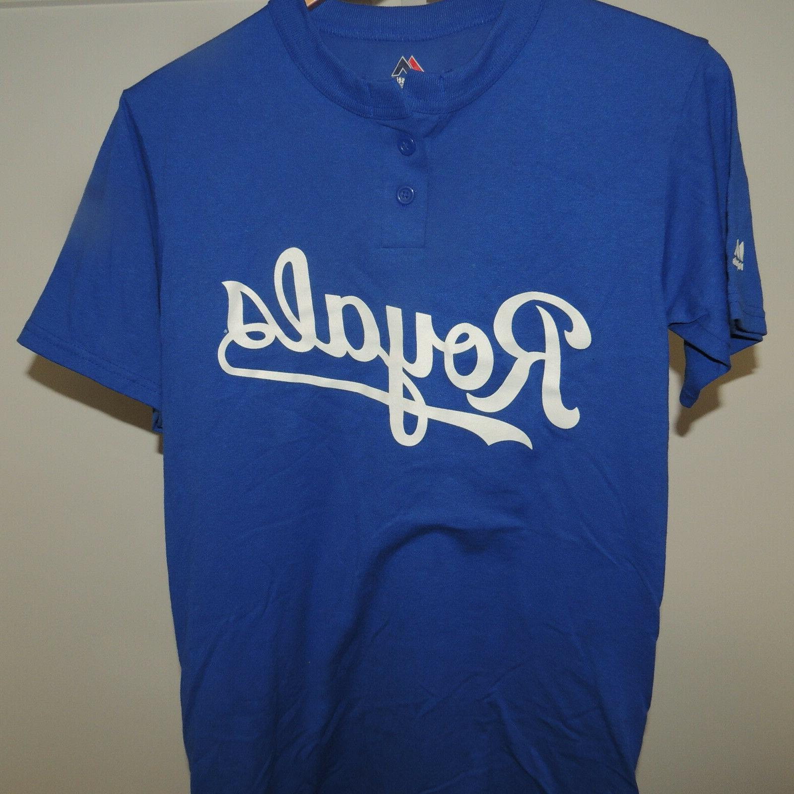 mlb kansas city royals baseball jersey shirt