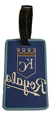 MLB Kansas City Royals ID Tag Luggage Travel Bag Tag